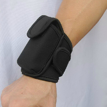 Sports wrist pouch for smartphones for sumsung S5/running armband
