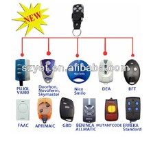 FAAC 433MHZ compatible remote control hand-held transmitter keyfob for gate garage door YET042-JR