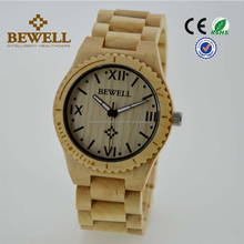 Exporter ECO-Friendly hand made wood grain watches for men Japanese movement watches