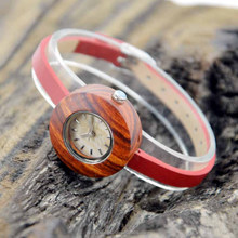 China factory wholesale eco-friendly sandalwood wrist wooden watch