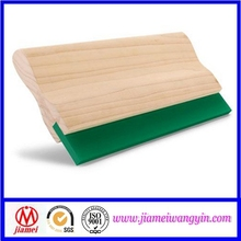 Silk screen printing wooden handle squeegees