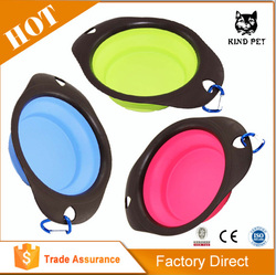 HIGH QUALITY COLLAPSIBLE PET BOWL WATER PET PUPPY DOG PORTABLE BOWL