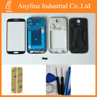 Original Black Full housing Replacement for Galaxy S4 i9500; For Galaxy i9500