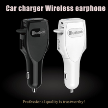 in ear wireless earbud,bluetooth earphone heaset and car charger,wireless earpiece invisible with car charger