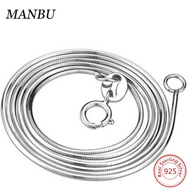 925 Sterling <strong>Silver</strong> 18'' 1.5mm snake chain necklace
