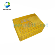 Good quality plastic transport poultry crate-sliding door