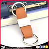 Promotional gifts loop leather fob keyring for women