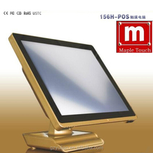 "Mapletouch Model:POS156H 15"" All-in-One touch screen computer /i3 All-in-One desktop touch computer"