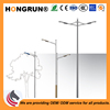 Multi-type simple style street light pole with OEM services steel lamp poles