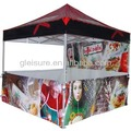 3x3 aluminum foldable gazebo tent, industrial foldable gazebo