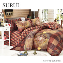 Middle East design cotton printed bedding set fabrics