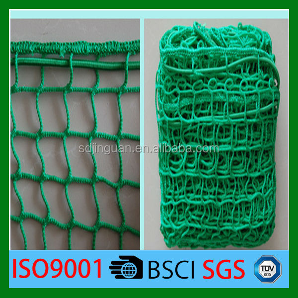 100%virgin PE/PP knotless mesh cargo net