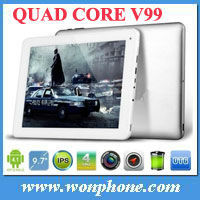 High Quality Chuwi V99 Quad Core Tablet PC 9.7inch Retina screen 1GB+16GB