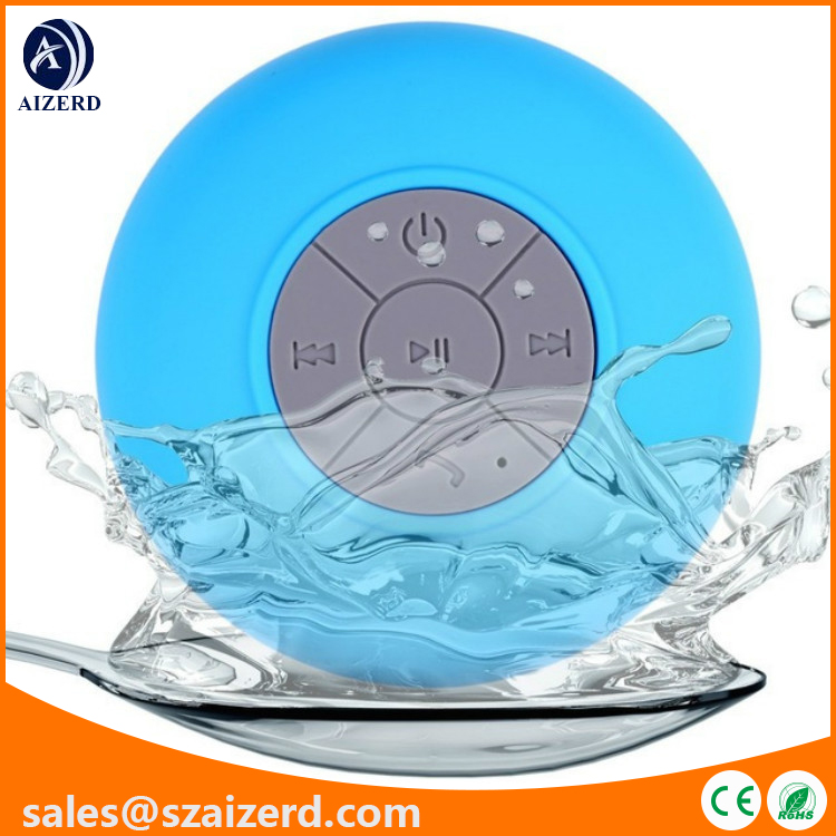 Hot Selling Mini Wireless Bluetooth Speaker with Suction Cup