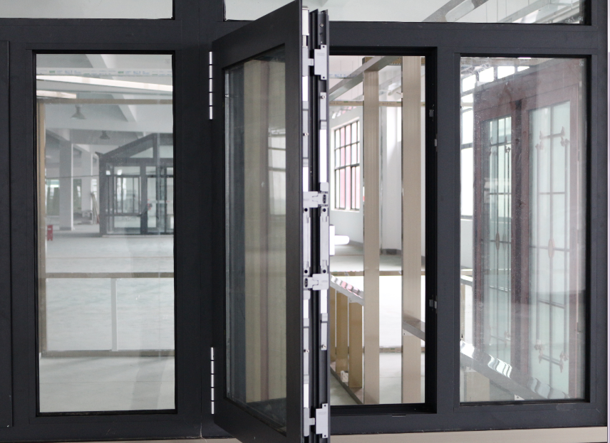 Double glazing aluminum window Germany design