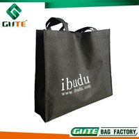 Retail Price 110g Durable Non woven Folding shopping bag for business promotion
