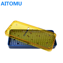 Hot Sale Plastic Surgical Instrument Sterilization Tray With Cover