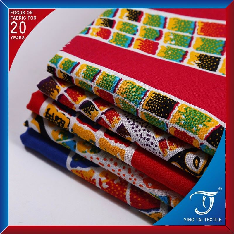 Hot selling products with low price factory stock wax fabric print in vietnam
