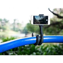 Flexible Smartphone Selfie Stick | Lazy Snake Phone Pod | Camera Tripod Mount with Ball Head | Suction Cup Pad for <strong>Gopro</strong>, SJCAM