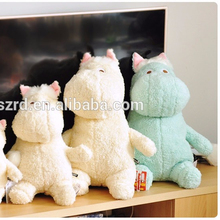The hippo hold pillow doll/plush baby toys/animal stuffed toys