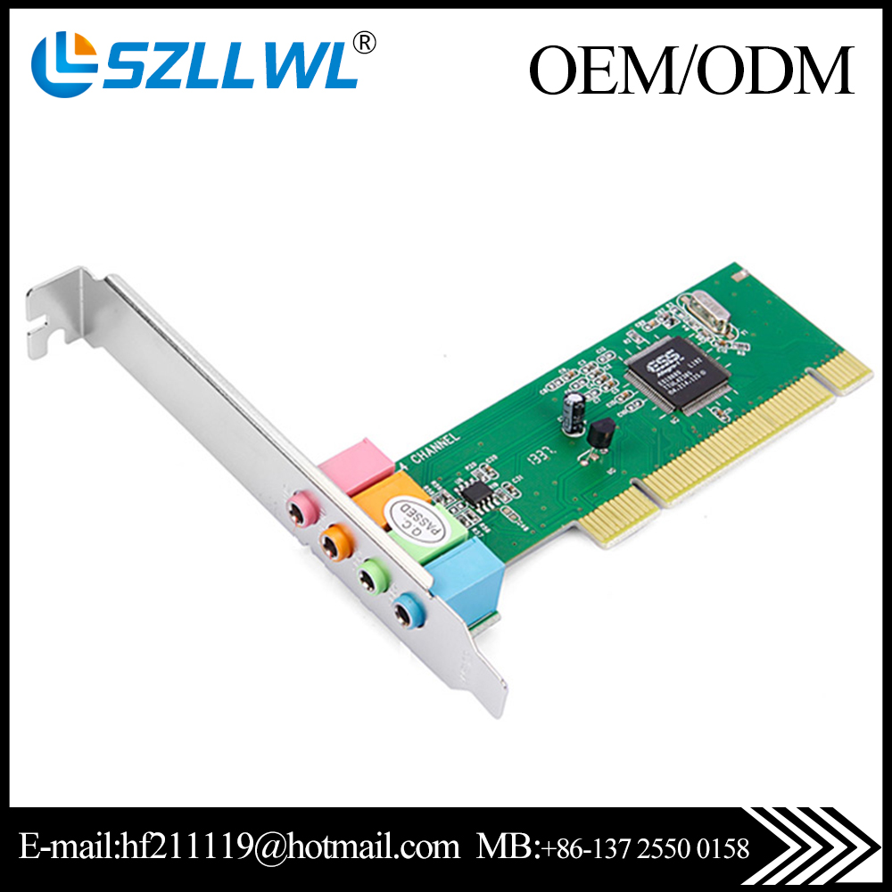 ESS chipset 4.1 Channel PCI 3D Sound Card