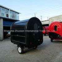 Mobile Kitchen & Food Truck Equipment / Food Vending Trailer ZS-FT220 B