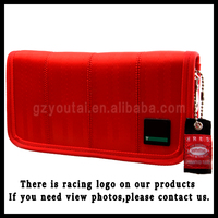 JDM Style Sports Wallet Racing Canvas Wallet For Men And Women JDM Racing Wallet Red