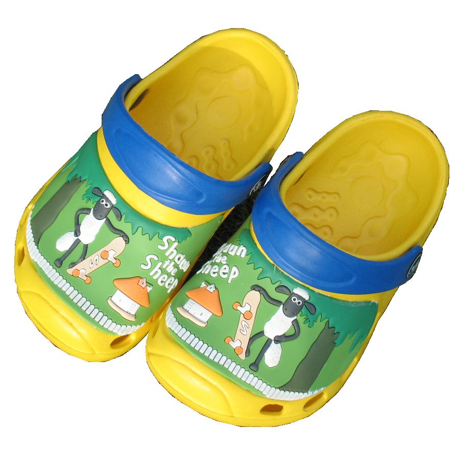 Wholesale EVA Chileren's Garden Clogs Shoes Kids Holey Clogs