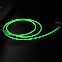 2019 fashion usb cable fast charging light up wire flowing LED sync data cable for <strong>mobile</strong> <strong>phone</strong>