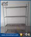 50cm width warehouse shelf/display rack for flower with caster wheel