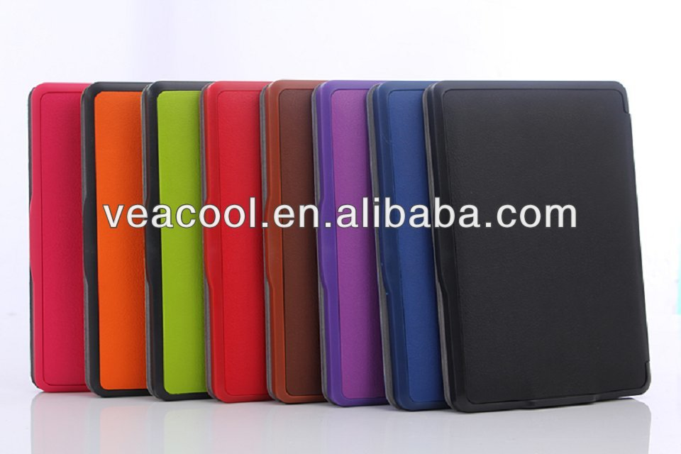 New Ultra Slim Smart Leather Case Cover for Amazon Kindle Paperwhite 5 Case