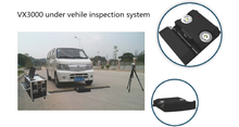 Portable under vehicle moveable inspection system