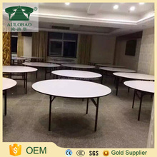 Modern wedding cheap used round folding banquet tables for restaurant