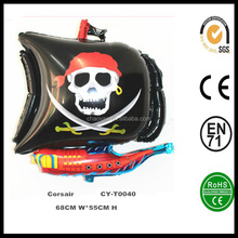 Wholesale Inflatable Corsair Helium Foil Balloon,Party Decoration Pirate Ship Balloon