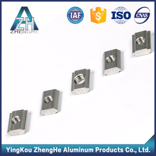 china supplier industrial M8 M10 t slot extruded aluminum t nut
