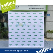 3x3 Grids Square Stretch Fabric Pop up Banner Displays Stand
