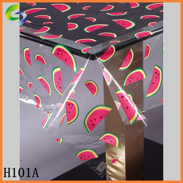 Plastic Washable wholesale table runners in roll