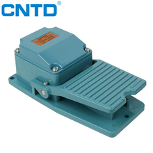 CNTD Safety Design waterproof single foot switch heavy duty trigger push button pedal switch (CFS-402)