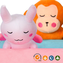 Monkey and rabbit carton natural latex baby pillow cooling gel pillow