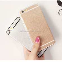 Fashion OEM slim ultral thin bling glitter soft TPU phone cases for iphone 5/6/6s/6 plus,colorful shinning tpu cases