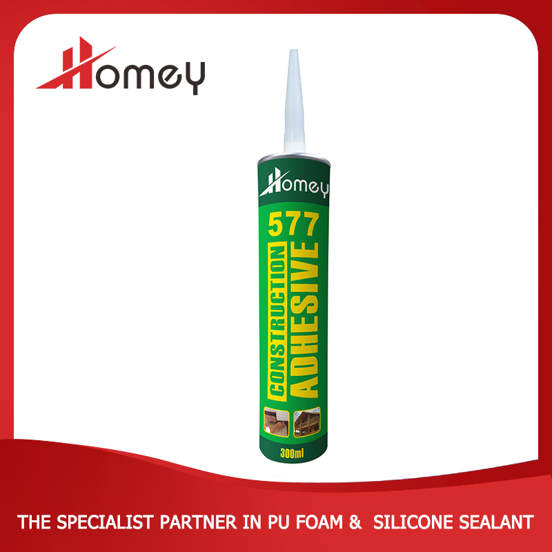 Homey 577 waterproof other adhesive construction pu glue