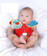 babyfans Soft Baby Cotton Pillow Toys Cute Animal Design Baby Neck Pillow