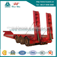 HUAWIN 3 Axle Plat Trailer Lowbed