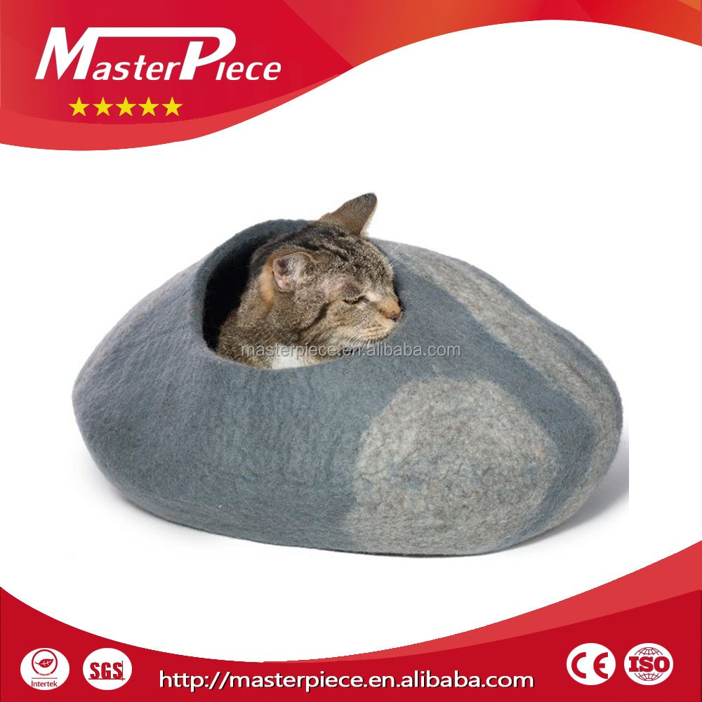 Premium Plush Covered Cat Cave/Enclosed Dog Burrow/Hooded Pet Bed products