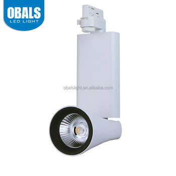 China Supplier Wholesale Clear Glass Circuit Wall Base 20W COB LED Track Light