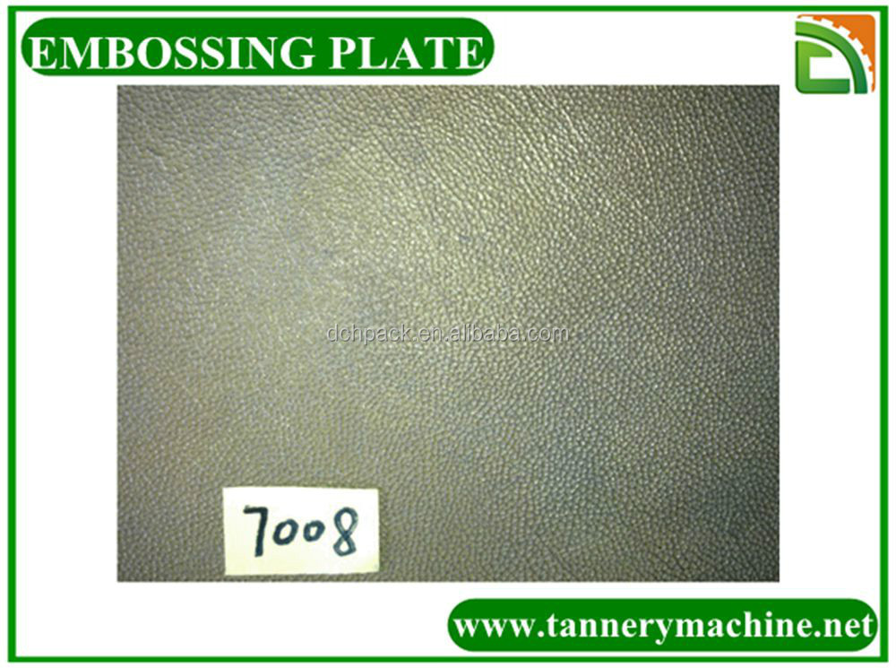 leather embossing license plate steel embossing roller