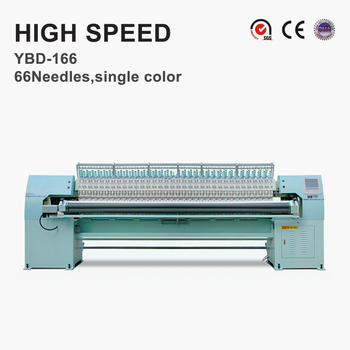 YBD166 High Speed Quilting Embroidery Machine Optional Auto-trimming system