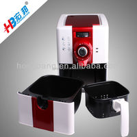 More than 80% less fat safely watch the frying food oil free fryer popular in Japan