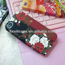 3d plastic phone case/cell phone display case/phone case for iphone5