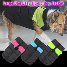 Trade Assurance new pets products 2015 private label large dog winter jackets reflective dog t shirt